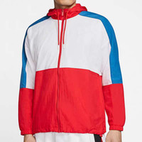 Erkekler Kadınlar Ceket Kaban Kazak Hoodie Erkek Giyim Asya Boyut Kapüşonlular Uzun Kollu Sonbahar Spor Fermuar WINDBREAKER bahar W6QV