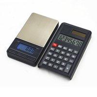 200g / 0.01g Rechner Elektronische Maßstab Hohe Präzision Elektronische Schmuck Mini Palm Digital Taschenskala