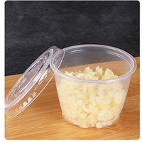 Disponibla lådor sås kopp gelé pudding 50 ml fall krydda nytt packning transparent arrangör kök varm försäljning hög kvalitet 15oh k2