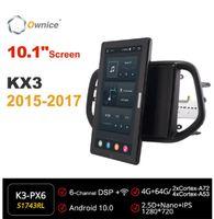 "Auto Audio Eigentor 1280 * 720 Android 10.0 Radio für KIA KIA KX3 2021 System Player Multimedia Head Unit 10.1 ""IPS drehbar"
