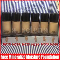 M maquillage maquillage minéraliser la fondation d'humidité liquide 30ml de cachette 6 couleurs maquillage