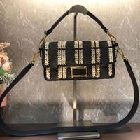 레이디 메신저 가방 짠 숄더 가방 여성 바게뜨 크로스 바디 가방 핸드백 최고 품질의 진짜 가죽 지갑