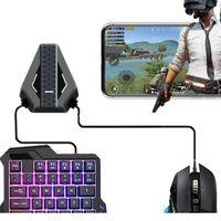 Contrôleurs de jeu Joysticks GamePad Contrôleur Convertisseur pour Xbox One Switch Wireless Bluetooth Bluetooth Gaming Clavier Souris Adapter1