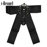 Pinches, broches ruban Broche Broche Broche Broche Bowknot Bownot Corsage Corsage Black Cravates pour hommes Crafts Boufts Bouquet Mariage Accessoires1