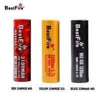 Ursprünglicher BestFire IMR 18650 3000mAh 3100mAh 3200mAh 35A 40A 60A Wiederaufladbare Batterie E CIG-Batterie BestFire IMR-Vape-Akku
