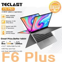 "أحدث Teclast Laptop F6 Plus 13.3 ""دفتر 1920 × 1080 IPS Gemini Lake N4100 Windows10 8GB RAM 256GB SSD 360 ° دوران Touch1"