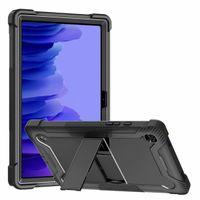 Funda protectora de servicio pesado a prueba de golpes Patinessstand tapa resistente para Samsung Galaxy Tab A7 Caja de 10.4 pulgadas (SM-T500 / T505 / T507)