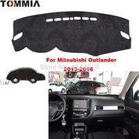 TOMMIA AUTO Автомобильная панель приборной панели накладки на обложке приборов Tash Mat Dashmat Anti-Sun Pad Fit для Mitsubishi Outlander 13-16 автомобиль наклейка1