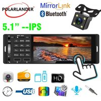 5.1 pulgadas 1 DIN MP5 Radio de coche Luces de colores 12V USB AUX Bluetooth Soporte de llamadas manos libres AI RM RMVB MP3 WMA 720P 4 canales1