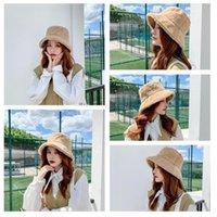 가을과 겨울 패션 다채로운 플러시 모자, 무당 꼭 맞는 패션 모자, 어부 항목 z5n5