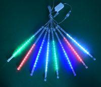 YENİ 30cm Parti Düğün Dekorasyon Noel Tatili LED Meteor Işık HHB2379 için 50cm Su geçirmez meteor yağmuru Yağmur Tüpler LED Aydınlatma