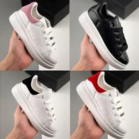 2020 zapatos de diseño para niños chicas de moda zapatillas de deporte de cuero 3m reflectante negro blanco terciopelo techo zapatillas de deporte de zapatillas de deporteSicladores 24-35