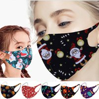 25 Styles Christmas Masks for Adult Kids Washable Reusable P...