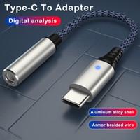 Type-C to 3.5mm 이어폰 케이블 어댑터 USB-C 남성 3.5 Aux Audio Female Jack to Samsung Note 10 20 Plus