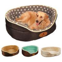 Kennels Pens Dog Bed House Casa Kennel Warm Lavabile per cucciolo di gatto Autunno Sleep Sempre Mat Soft Pet Forniture