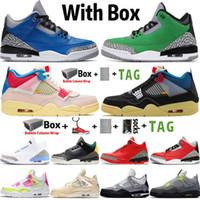 أعلى جودة factory_footwear jumpman 4 تحليل الألبوم جامعة الألبوم الأزرق الشراع 4 ثانية أحذية رجالي كرة السلة 3 og 3s تينكر موكا النساء أحذية رياضية المدربين حجم 13 مع مربع