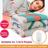145cm 220V cobertor elétrico aquecedor quente corpo aquecedor aquecedor de aquecimento termostato aquecimento elétrico para casa inverno1