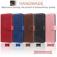 Für iPhone 12 Mini 11 PRO MAX PERSONALISIERTE SLIM Leder Brieftasche Telefon Fall Flip Card Slots für Samsung S20 Fe A71 A42 Huawei Moto Sony