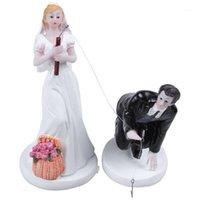 Bestfunny романтический свадебный торт топпер фигура невеста жених пара свадебный жених крючко