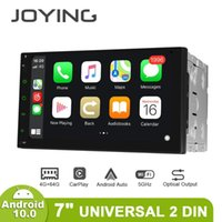 "Joying 7 ""Universal Central Multimidia Double 2 Din Android 10 Coche Radio Estéreo Autoradio GPS TV Digital Carplay Cassette 4G OBD2 DVD"