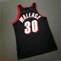 Costered cosido Raseed Wallace Vintage 911 Jersey XS-6XL Hombres retrocesos Jerseys de baloncesto Hombres baratos Mujeres Jóvenes
