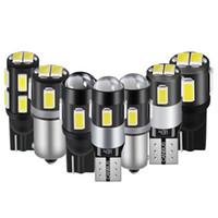 T10 del segnale LED BA9S Canbus lampadine dell'automobile LED Liquidazione Parcheggio Leggi Licenza Luci Automobile lampada 12V