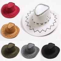 2020 trajes de Carnaval de Niños Niños Girl Party Para cowboyhat Carnival Vaquera Sombrero de vaquero
