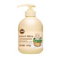 meilleure peau tendre de qualité et enlève la peau de lait de chèvre de la peau de poulet éclaircissement lotion pour le corps nourrissant hydratant lissant