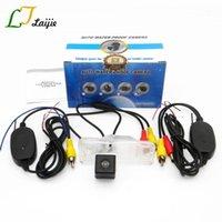 Камера заднего вида для Santa Fe 3 DM Maxcruz KMD / HD CCD Night Vision RCA AUX интерфейс беспроводной автостоянка камера1