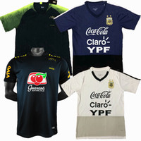 Top NUEVO 2019 2020 2021 Argentina Soccer Wear Casual T Shirts Fútbol National Team Training Trainings Camisa