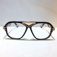 잭 II 골드 남성 안경 자동차 인기 광학 유리 사각형 프레임 탑 수량 야외 UV400 패션 선글라스 패키지 보내기 상자
