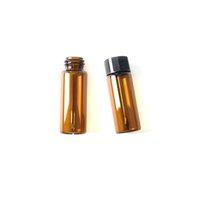 Cam Kavanoz Konteyner Kulak Kepçe Ile Mühürlü Herb Hap Durumda Kutusu Hava Sıkı 20 * 65mm Küçük Su Geçirmez Taşınabilir Depolama Sigara Aksesuarları