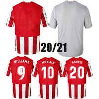 Top 2020 Club sportif Jersey Soccer Raul Garcia 20 21 Muniain Athletic Bilba Williams Shirt de football Unai Lopez Bilbao Villalibre Jersey