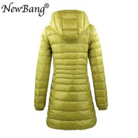 NewBang 7XL 8XL Plus Long Down Jacket Women Winter Ultra Light Down Jacket Women With Hooded Down Coat Female Big Size Coats 201203