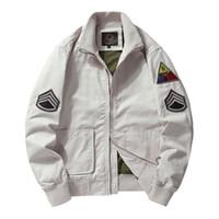Männer Army Jacken Plus Größe 6XL Hot Cost Oberbekleidung Stickerei Herrenjacke für Overalls MA1 Air Force Jacket Military Baseball Multi Pochette