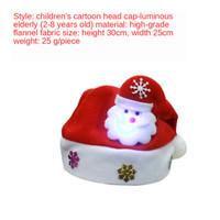 Dekoration Weihnachts Erwachsenen rote Weihnachtsmütze normalen Weihnachten Hat der Weihnachtsmann / Kinder