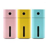 Auto Lufterfrischer USB-Reiniger Aroma ätherisches Öl Diffusor LED Nachtlicht Mini Ultraschall-Quadrat-Luftbefeuchter-Zubehör1