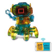 RC Intelligente Roboter-Induktionsroboter Programmieren Fernbedienung Robotica Elektrische Action Figure Music Roboter Spielzeug für Kinder 201211
