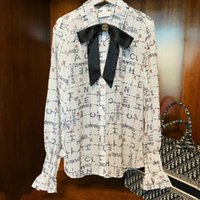 2020 New Arrival Designer Lapel Long Sleeve Shirt Ladies T- s...