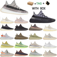 2021 kanye west adidas yeezy boost 350 v2 yeezys chaussures men yecheil scarpe yezzy shoes 3m white black reflective mens women stock x sneakers