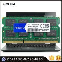 RAMS HRUIYL Laptop RAM DDR3 1600MHZ 2G 4G 8G MEMORIA SDRAM PC3-12800S 1.5V 240 PIN Memoria de alto rendimiento de alto rendimiento Chip original