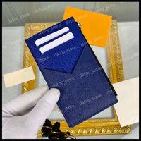 Мужская кошелек кошелек люкс дизайнеры сумки мешки маленькие женские держатель карты монеты кошелек Pochette кошельки ключевой паспорт держатель сцепления сумка длинные кошельки