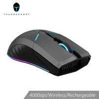 Thunderobot wireless mouse gaming mouse OMRON LED backlight ...