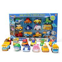 الاطفال منتديات عمل أرقام محطة بنزين الأنبا لعب روبوكار بولي معدن نموذج سيارة لعبة لعيد الميلاد للأطفال هدايا