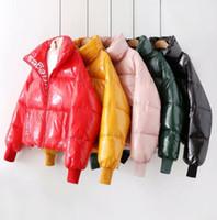 Jaqueta para as mulheres para as mulheres Inverno 2019 Roupas Espessas Baiacu Quente Casaco Feminino Oversized Grande Plus Size Parka Outerwear 535