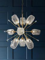 Nordic Diamond Led Chanselier Подвесные светильники Освещение K9 Crystal Crystal Aluctury Виситная лампа для гостиной Спальня Главная Deco Творческие приспособления