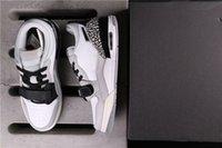 Genuine Jumpman 312 Scarpe da basket da donna da uomo, coppie di scarpe da ginnastica grigia, in bianco e nero, taglia integrale 36-45