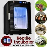 새로운 도착 계란 인큐베이터 열전 디지털 LED 도마뱀 뱀 치킨 해쳐 온도 제어 파충류 자동 부화기