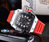 2020 nuovi orologi da uomo Montre Homme al quarzo al quarzo in silicone uomo moda impermeabile sportivo uomo di lusso orologio orologio Reloj hombre