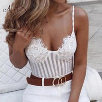 مثير السباغيتي حزام الرباط الأزهار ارتداءها المرأة شبكة شير المرقعة بذلة شفافة كاتسوذة الجسم البدلة ASJU60116